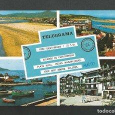 Postales: POSTAL CIRCULADA - FUENTERRABIA 34 - LA PLAYA - EDITA MANIPEL. Lote 195165023