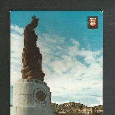 Postales: POSTAL SIN CIRCULAR - SANTURCE 63 - MONUMENTO A LA VIRGEN DEL CARMEN - BILBAO - EDITA ESCUDO DE ORO. Lote 195176893