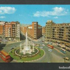 Postales: POSTAL SIN CIRCULAR - BILBAO 100 - PLAZA DE ZABALBURO - EDITA GARCIA GARRABELLA. Lote 195234187