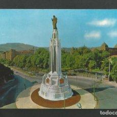 Postales: POSTAL SIN CIRCULAR - BILBAO 7218 - PLAZA Y MONUMENTO AL SAGRADO CORAZON - EDITA SAN CAYETANO. Lote 195234376