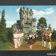 Postales: POSTAL SIN CIRCULAR - VIZCAYA 107 - CASTILLO DE BUTRON - EDITA GARCIA GARRABELLA. Lote 195234886