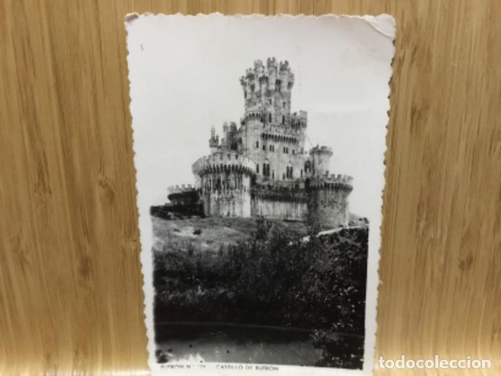 POSTAL DEL CASTILLO DE BUTRON.1957. (Postales - España - País Vasco Moderna (desde 1940))
