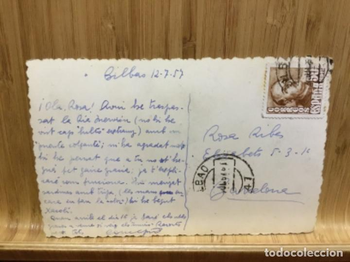 Postales: Postal del castillo de butron.1957. - Foto 2 - 195242978