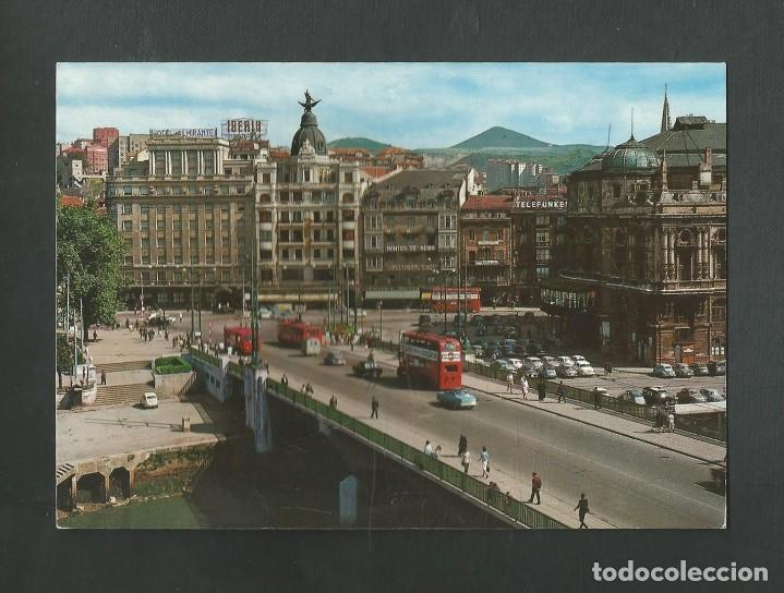 POSTAL SIN CIRCULAR - BILBAO 40 - PUENTE DE LA VICTORIA - EDITA GARCIA GARRABELLA (Postales - España - País Vasco Moderna (desde 1940))