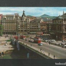 Postales: POSTAL SIN CIRCULAR - BILBAO 40 - PUENTE DE LA VICTORIA - EDITA GARCIA GARRABELLA. Lote 195251300