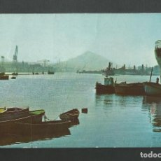 Postales: POSTAL CIRCULADA - BILBAO SERIE II Nº9003 - LA RIA EN AXPE - EDITA CAMPAÑA. Lote 195333855