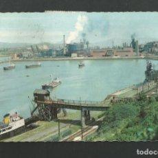 Postales: POSTAL CIRCULADA - SESTAO 2211 - BILBAO - ALTOS HORNOS DE VIZCAYA - EDITA GARCIA GARRABELLA. Lote 195415478