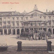 Postales: VITORIA (ALAVA) - PLAZA NUEVA - CASA THOMAS - BARCELONA. Lote 195669510