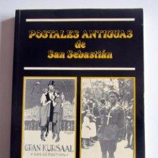 Postales: POSTALES ANTIGUAS DE SAN SEBASTIAN. LUIS ALZUA MIMENDIA. DONOSTIA. Lote 196639433