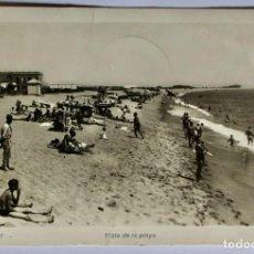 Postales: POSTAL MALGRAT- VISTA DE LA PLAYA - CIRCULADA 1954. Lote 198020690