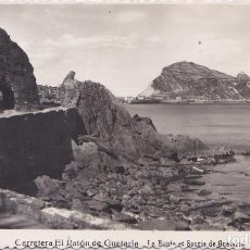 Postales: ZARAUZ (GUIPUZCOA) - CARRETERA AL RATON DE GUETARIA. Lote 198058188