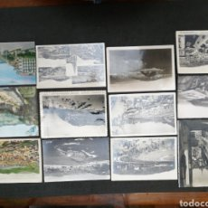 Postales: SAN SEBASTIÁN , LOTE DE 12 POSTALES. Lote 199314155