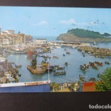 Postales: LEQUEITIO VIZCAYA PRUEBA DEL GANSO. Lote 199642972