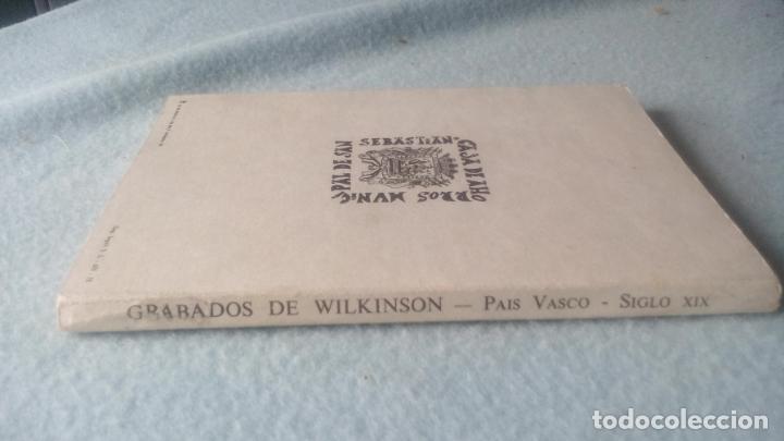 Postales: GRABADOS DE WILKINSON-LIBRO 12 POSTALES DEL PAÍS VASCO CORRESPONDIENTES A LAS ORIGINALES LITOGRAFÍAS - Foto 2 - 200261055