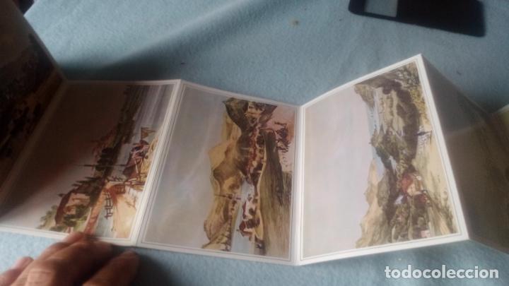 Postales: GRABADOS DE WILKINSON-LIBRO 12 POSTALES DEL PAÍS VASCO CORRESPONDIENTES A LAS ORIGINALES LITOGRAFÍAS - Foto 3 - 200261055