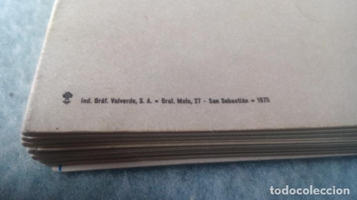 Postales: GRABADOS DE WILKINSON-LIBRO 12 POSTALES DEL PAÍS VASCO CORRESPONDIENTES A LAS ORIGINALES LITOGRAFÍAS - Foto 6 - 200261055
