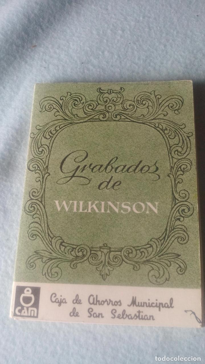 GRABADOS DE WILKINSON-LIBRO 12 POSTALES DEL PAÍS VASCO CORRESPONDIENTES A LAS ORIGINALES LITOGRAFÍAS (Postales - España - País Vasco Moderna (desde 1940))