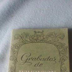 Postales: GRABADOS DE WILKINSON-LIBRO 12 POSTALES DEL PAÍS VASCO CORRESPONDIENTES A LAS ORIGINALES LITOGRAFÍAS. Lote 200261055