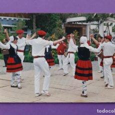 Postales: ANTIGUA POSTAL TIPICA FOLKLORE VASCO BILBAO 1966. Lote 200374852