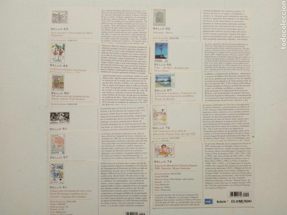 Postales: Lote 22 postales - País Vasco antiguo - Editadas por El Mundo del País Vasco - Euskadi - Foto 7 - 200729456