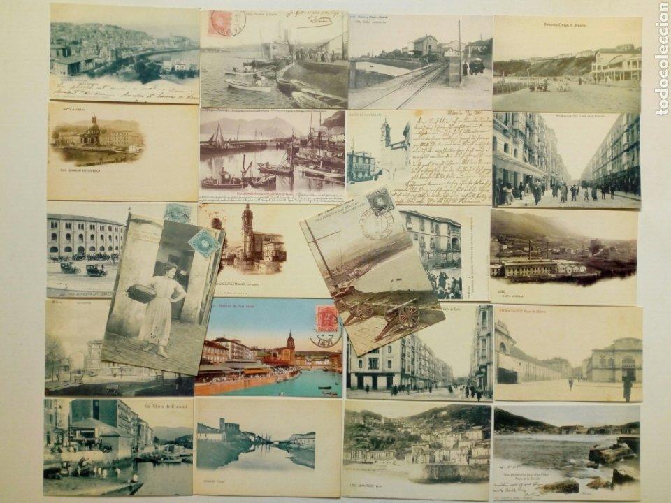LOTE 22 POSTALES - PAÍS VASCO ANTIGUO - EDITADAS POR EL MUNDO DEL PAÍS VASCO - EUSKADI (Postales - España - Pais Vasco Antigua (hasta 1939))