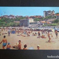 Postales: ALGORTA VIZCAYA PLAYA DE EREAGA HOTEL LOS TAMARISES. Lote 202113347