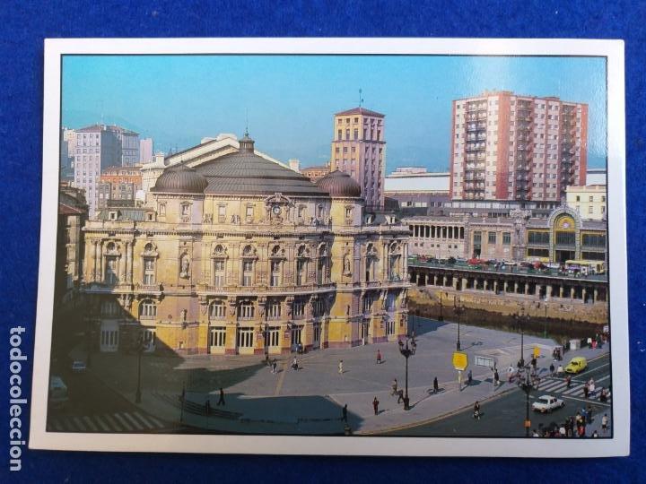 POSTAL DEL PAIS VASCO. BILBAO. TEATRO ARRIAGA. # 273. (Postales - España - País Vasco Moderna (desde 1940))