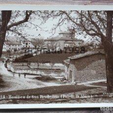 Postales: VITORIA. BASÍLICA DE SAN PRUDENCIO. G.H. ALSINA Nº 11. MARGARA. Lote 204456488