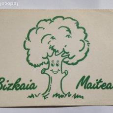 Postales: BIZKAIA MAITEA - MASCOTA DEL CLUB. Lote 204626296