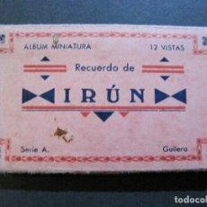 Postales: IRUN-BLOC DE 12 VISTAS FOTOGRAFICAS-FOTO GUILERA-VER FOTOS-(V-20.097). Lote 204697612