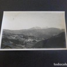 Postales: SALINAS DE LENIZ GUIPUZCOA VISTA FOTOGRAFIA TAMAÑO POSTAL AÑOS 20. Lote 205258795
