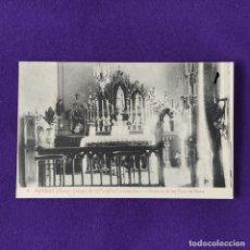 Postales: POSTAL DE MURGUIA (ALAVA). COLEGIO DE LA PURISIMA CONCEPCION. Nº4 ORATORIO DE LAS HIJAS. 1925-30.. Lote 205549998