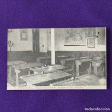 Postales: POSTAL DE MURGUIA (ALAVA). COLEGIO DE LA PURISIMA CONCEPCION. Nº10 SALA DE ESTUDIOS. 1925-30.. Lote 205550198