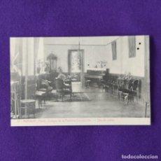 Postales: POSTAL DE MURGUIA (ALAVA). COLEGIO DE LA PURISIMA CONCEPCION. Nº17 SALA DE VISITAS. 1925-30.. Lote 205550367