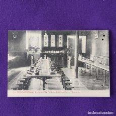 Postales: POSTAL DE MURGUIA (ALAVA). COLEGIO DE LA PURISIMA CONCEPCION. Nº19 COMEDOR. 1925-30.. Lote 205550402