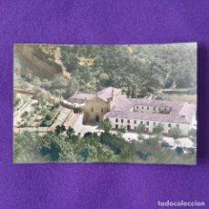 Postales: POSTAL DE ANGOSTO (ALAVA). Nº2 VISTA GENERAL DEL SANTUARIO. EDICIONES MADYMA. 1958.. Lote 205553081
