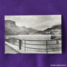 Postales: POSTAL DE SOBRON (ALAVA). Nº6 MIRADOR DEL EMBALSE RIO EBRO. EDICIONES SICILIA - ZARAGOZA. 1959.. Lote 205553935