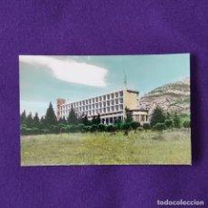 Postales: POSTAL DE LEZA (ALAVA). Nº4 SANTUARIO DE LEZA, VISTA PARCIAL. EDICIONES MONTAÑES-ZARAGOZA. 1959.. Lote 205554311