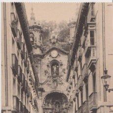 Postales: SAN SEBASTIAN, IGLESIA DE SANTA MARIA - EDICION G.G.GALARZA 150 - CLICHÉ GONZÁLEZ - S/C. Lote 205609317