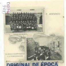 Postales: (PS-63273)POSTAL DE ARANZAZU-BANDA DE MUSICA. Lote 205712852