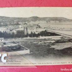 Postales: FUENTERRABIA HONDARRIBIA ( GUIPÚZCOA ) ED. MD 76. Lote 205875386
