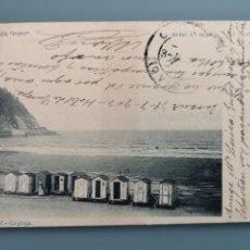 Postales: POSTAL ZARAUZ LA PLAYA COLECCION PEPE SERIE 5 Nº 5 GUIPUZCOA REV DIVIDIR CIRCUL 1903 PERFECTA CONSER. Lote 206812318
