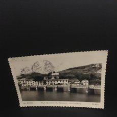 Postales: POSTAL DE BEHOBIA PUENTE INTERNACIONAL EDC.AISA. Lote 206960362