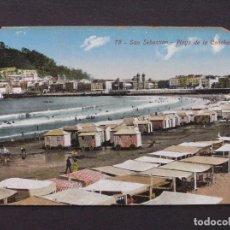 Postales: 78. SAN SEBASTIAN - PLAYA DE LA CONCHA - GREGORIO G. GALARZA. Lote 207376952
