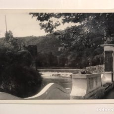 Cartes Postales: ALZOLA (GUIPÚZCOA) POSTAL PRESA SOBRE EL RÍO DEVA. FOTO MARIN (H.1960?) ESCRITA.... Lote 208195461