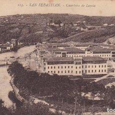 Postales: SAN SEBASTIAN CUARTELES DE LOYOLA. ED. FOTO GALARZA Nº 113. SIN CIRCULAR. Lote 209597057
