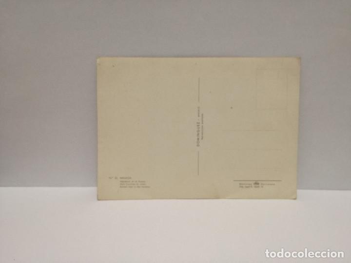 Postales: POSTAL Nº 35 - ANDALUCIA - MALAGA, PUERTO - ED. FISA 1961 - Foto 2 - 210232373