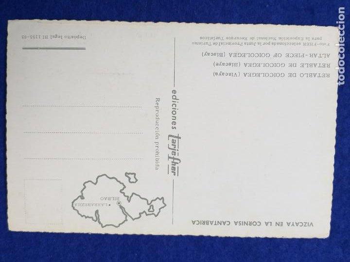 Postales: POSTAL DEL PAIS VASCO. RETABLO DE GOICOLEGEA. LARRABEZUA. SIN CIRCULAR - Foto 2 - 210260905