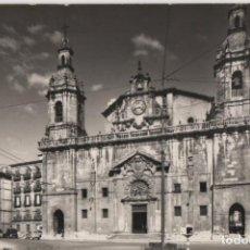 Postales: IGLESIA SAN NICOLAS-CIRCULADA Y SIN SELLO-BILBAO-VIZCAYA. Lote 210420300