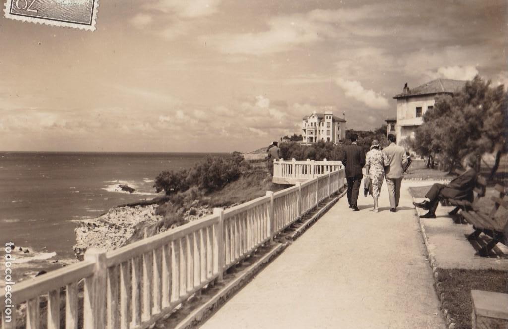 VIZCAYA ALGORTA PARQUE USATEGUI. ED. MAITE BILBAO Nº 8. CIRCULADA (Postales - España - Pais Vasco Antigua (hasta 1939))